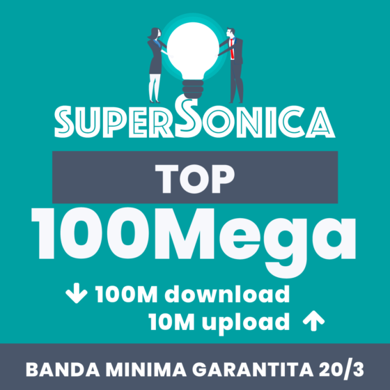 supersonica business 100 mega